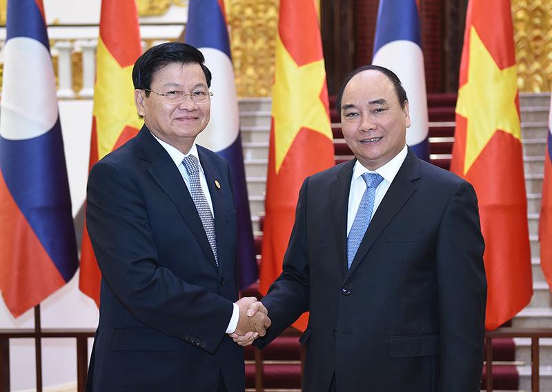 Thủ tướng Việt - Lào hội đàm
