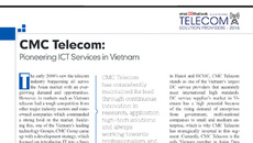 CMC Telecom - Top 25 doanh nghiệp viễn thông triển vọng 2016