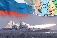 Putin điều chiến hạm tới Baltic, NATO lo