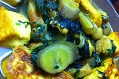 'Bí kíp' làm món ốc nấu chuối đậu không tanh, giòn dai hấp dẫn
