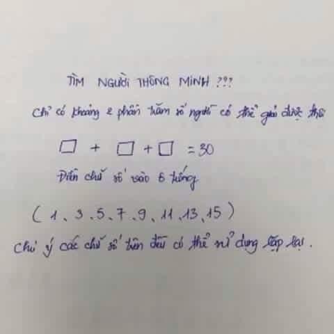 bài toán, bài toán hay, bài toán khó