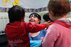 Cô gái mắc bệnh Down trở thành giáo viên mầm non