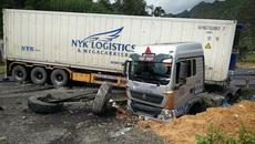 Lạng Sơn: Container loạng choạng đâm 5 người thương vong