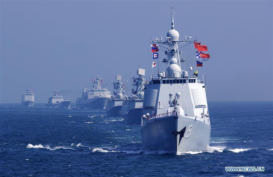 Trung Quốc bất ngờ tập trận đáp trả Mỹ ở Biển Đông