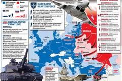 'Đáp lễ' Putin, NATO rầm rập biểu dương sức mạnh