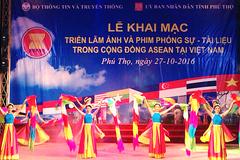Triển lãm ảnh và phim phóng sự - tài liệu về cộng đồng ASEAN tại Phú Thọ