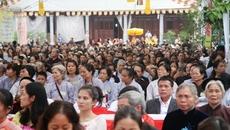 10.000 dự đại lễ cầu siêu nạn nhân tai nạn giao thông