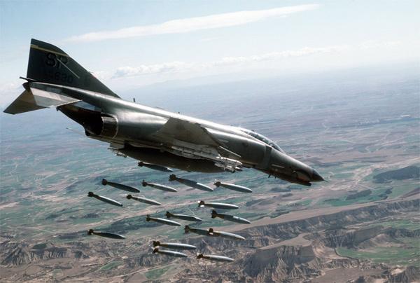 Hình ảnh dàn chiến cơ làm nên Không lực Mỹ