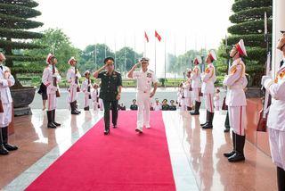 Tư lệnh Mỹ gặp Tổng tham mưu trưởng QĐND Việt Nam