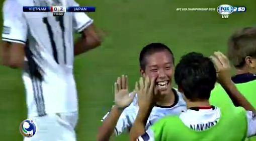 U19 Nhật Bản goal 10