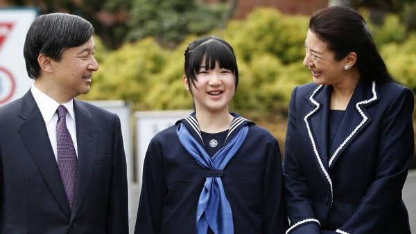 Công chúa Nhật Bản nghỉ ốm cả tháng do thi cử kiệt sức