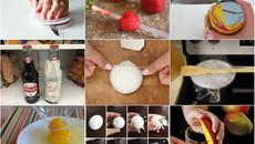 10 mẹo làm bếp siêu nhanh có thể bạn chưa biết