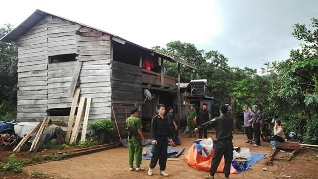 Bắt 2 nghi can vụ nổ súng khiến 3 người chết ở Đắk Nông