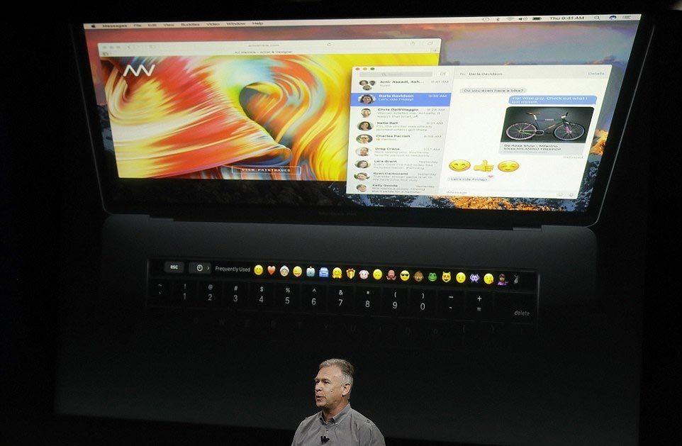 MacBook mới ra mắt với diện mạo đột phá