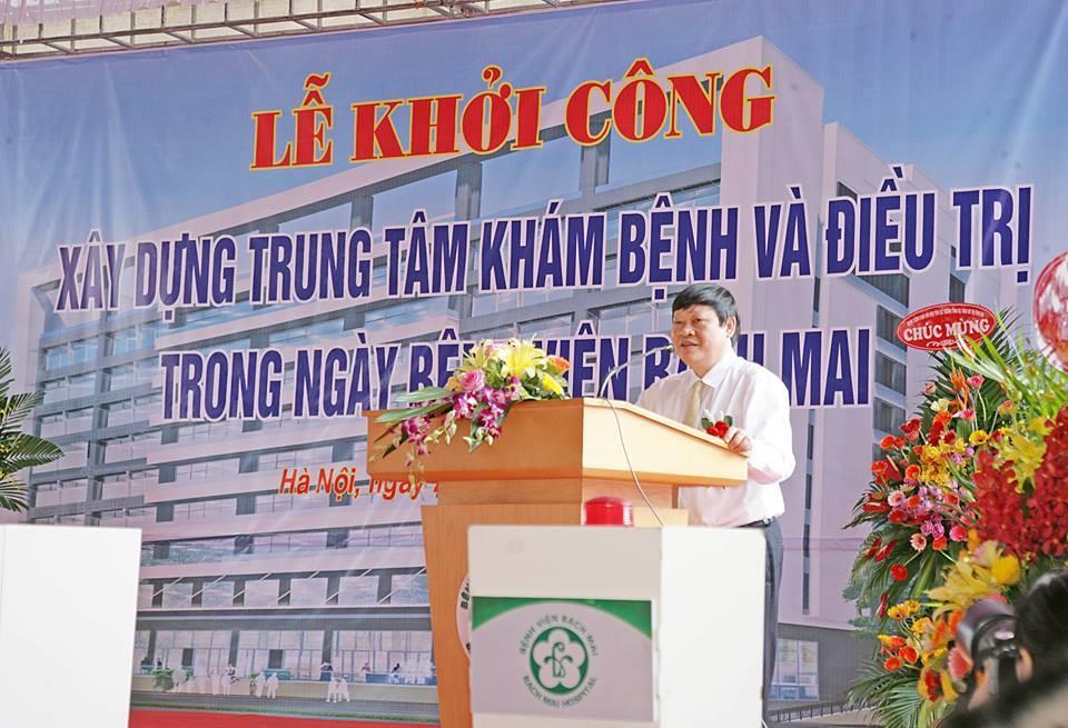 Bệnh viện Bạch Mai, sân đỗ trực thăng, bệnh viện lớn nhất miền Bắc, bệnh viện hạng đặc biệt
