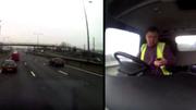 Vừa lái ô tô vừa nhắn tin, tài xế gây tai nạn khủng khiếp