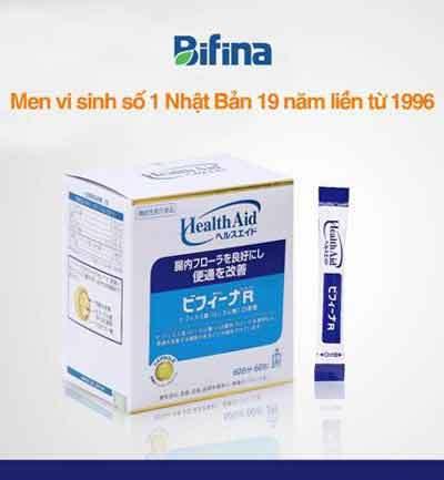 Viêm đại tràng, Bifina, Bifina Nhật bản, Men vi sinh, Men vi sinh Bifina