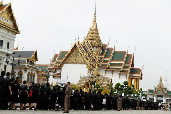 Thái Lan, quốc vương, đức vua, vua, viếng, tang lễ