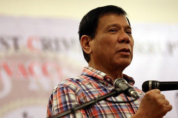 Rodrigo Duterte, Tổng thống Philippines, chửi thề