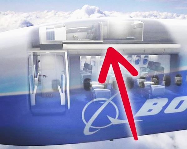 Căn phòng bí mật trên máy bay mà khách không được biết
