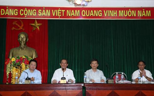 Phó Thủ tướng Trương Hòa Bình, Trương Hòa Bình, ngư dân, giáo dân, sự cố môi trường biển, Formosa, Quảng Bình