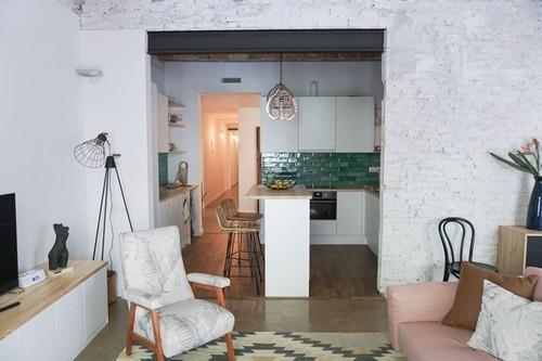 20161031101724 can ho 2 Thiết kế căn hộ bình yên và quyến rũ đến khó cưỡng với sắc màu Vintage