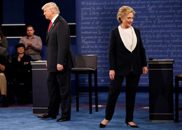 Donald Trump, Hillary Clinton, Tổng thống Mỹ, chính trị Mỹ, lịch sử Mỹ