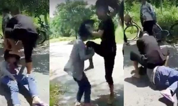 CA làm việc với thiếu nữ cầm đầu vụ đánh bạn, bắt liếm chân