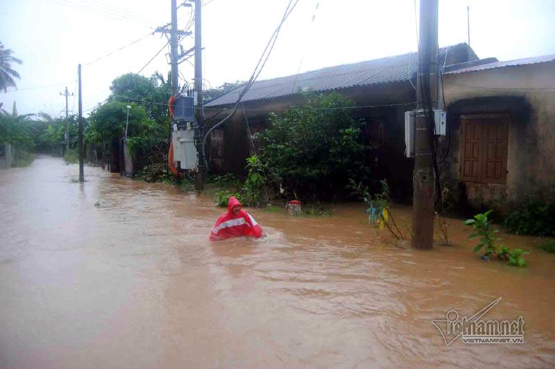 dự báo thời tiết, bản tin thời tiết, tin thời tiết, không khí lạnh, thời tiết trong ngày, lũ lụt miền Trung, lũ tại Quảng Bình, lũ chồng lũ