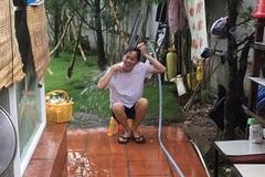 Hoài Linh bị chụp lén lúc tắm, lộ ảnh chồng giấu kín của Vy Oanh