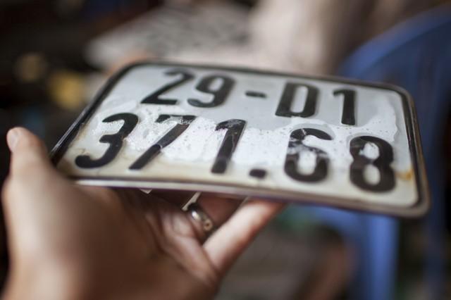 Chỉ tạm trú có được đăng ký biển số xe Hà Nội?