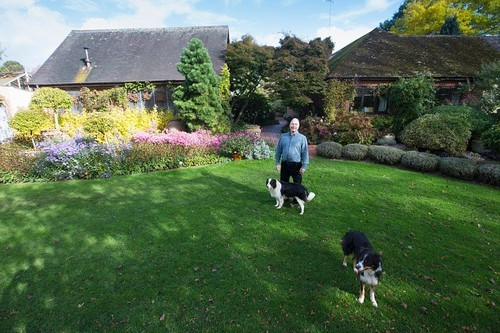20161102160523 lam vuon 4 Bãi cỏ trống thành khu vườn đẹp như cổ tích đã tiêu tốn 25 năm của gia chủ