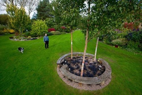 sân vườn đẹp, khu vườn đẹp như cổ tích, khu vườn đẹp