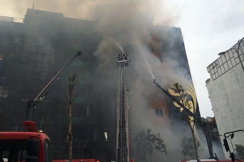Tổng hợp vụ cháy