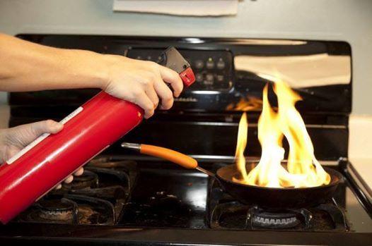 Những dụng cụ chữa cháy cần phải có trong nhà