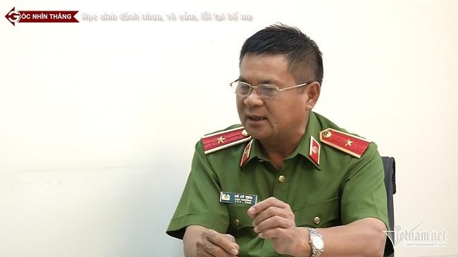 Thiếu tướng Hồ Sỹ Tiến xót xa trước bạo lực học đường
