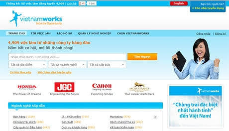 [VietnamNet.vn] Vietnamworks bị tấn công, lộ lọt thông tin hàng chục nghìn người dùng