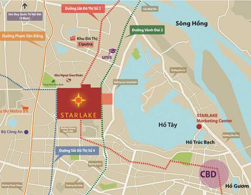 Diện mạo mới của Starlake Hà Nội
