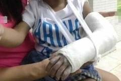 Tường trình của nhà trường về chuyện bé 3 tuổi gãy tay