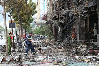 Cháy quán karaoke 13 người chết: Triệu tập nữ chủ quán