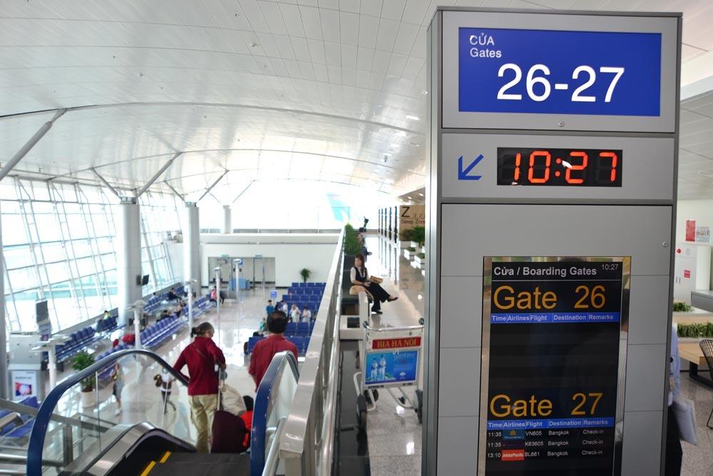 Nhà ga quốc tế Tân Sơn Nhất mở rộng  8.780 m2