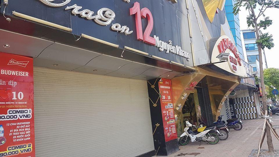 Nhiều dãy phố karaoke im lìm sau vụ cháy