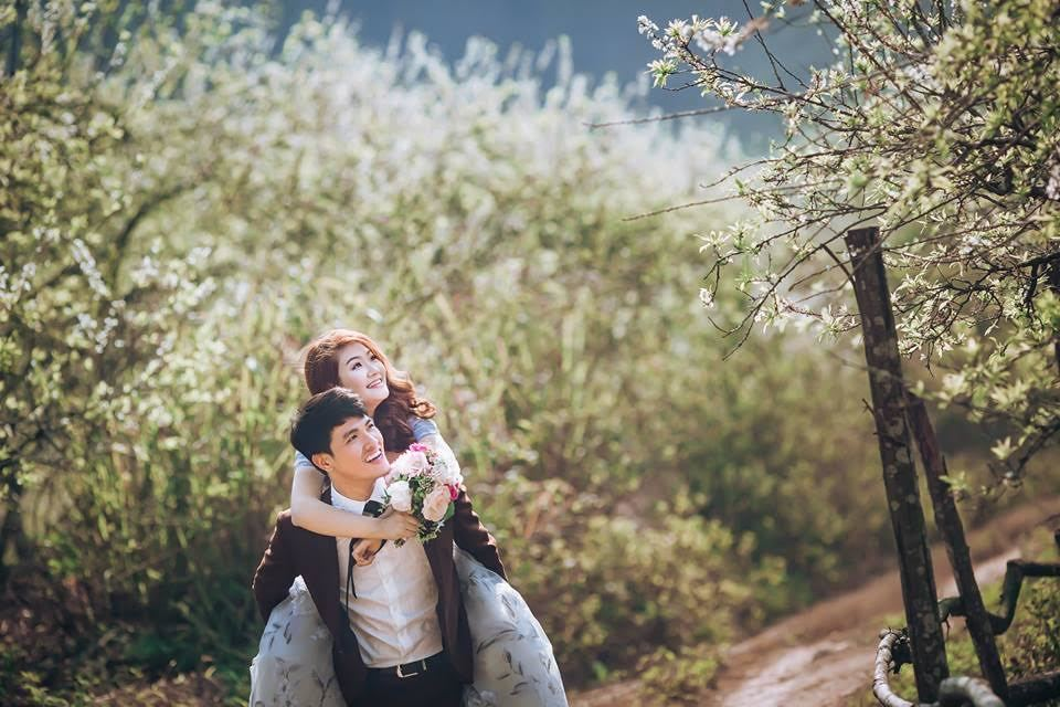 Ngất ngây với địa điểm chụp ảnh cưới đẹp ngỡ như trời Tây