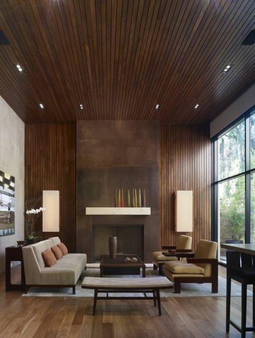 phòng khách, trang trí phòng khách, nội thất phòng khách, phòng khách gỗ