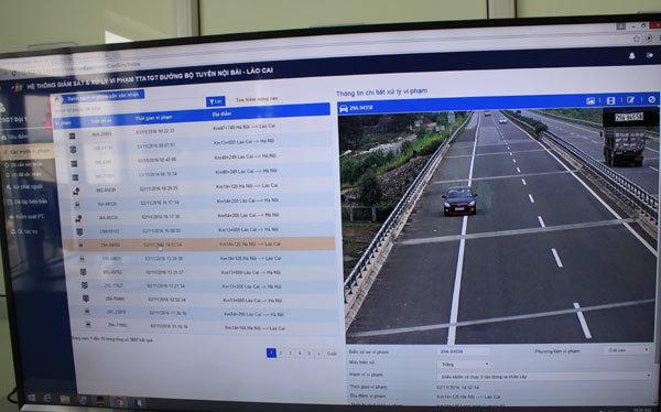 Bắt đầu phạt qua camera trên cao tốc Nội Bài - Lào Cai