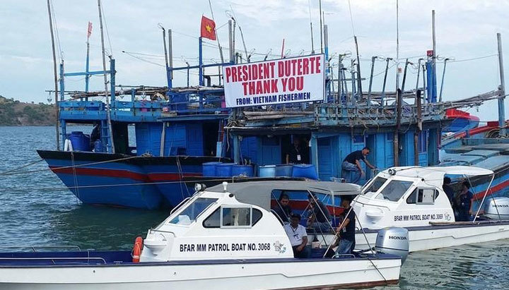 ngư dân, ngư dân bị bắt, trao trả ngư dân