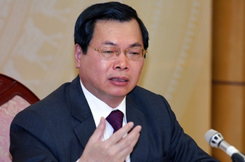 Ban Bí thư kỷ luật cựu Bộ trưởng Vũ Huy Hoàng