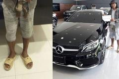 Người đàn ông đi dép lê vào showroom Mercedes và cái kết xấu hổ cho nữ nhân viên chảnh