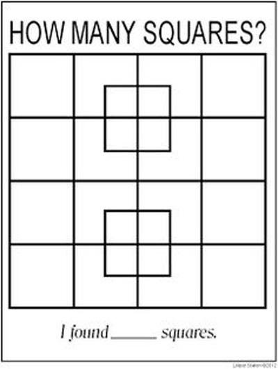 Bài toán đếm hình vuông 90% đếm nhầm