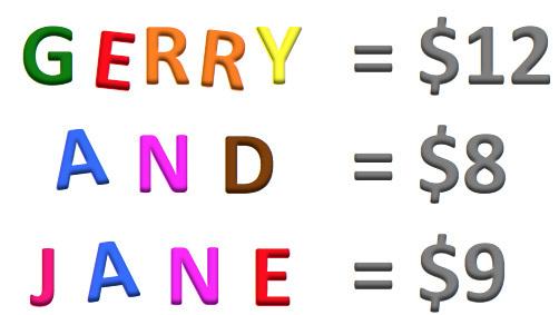 Bài toán tính đô la khiến người xem ngơ ngác